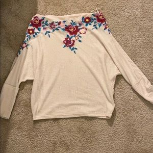 Off the shoulder Umgee Sweater